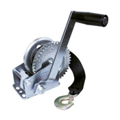 Additional Images for JIF 600Lb. 3:1 Gear Ratio Two-Way Ratchet Winch W/15' Winch Strap