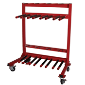 STORAGE RACKS & TOOL TRAYS