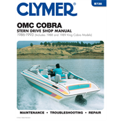 OMC STERNDRIVES CLYMER MANUALS