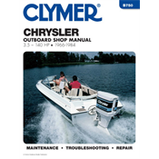 CHRYSLER/FORCE CLYMER MANUALS