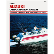 SUZUKI CLYMER MANUALS