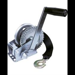 JIF 600Lb. 3:1 Gear Ratio Two-Way Ratchet Winch W/15' Winch Strap