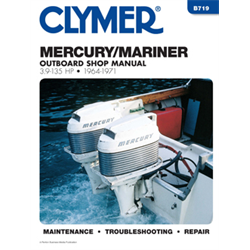 CLYMER Mercury 3.9-135hp 2 Stroke 1964-1971